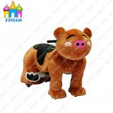 Finego Playground Equipment Gg Band Electric Zippy Animal Car Rider