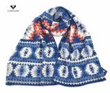 Самый последний шарф способа картины зигзага жаккарда зимы 2016