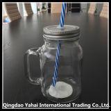 450ml de Kruik van de Metselaar van het glas/de Kruik van het Handvat van het Glas
