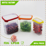 3 in 1 capienza diConservazione di plastica del frigorifero della casella del commestibile di Environmently del contenitore di alimento multi risparmiano lo spazio per la cucina BPA libera