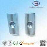 Qualitäts-Lichtbogen-Form-Neodym-Magneten mit Senker-Loch