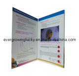 livret explicatif de publicité visuel de l'écran LCD 4.3inch