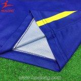 زرقاء وصفراء يشبع تصميد تصميم كرة سلّة بدلة