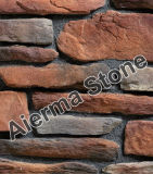 Villa Wall Cladding (ATR-06)를 위한 분야 Ledge Design Masonry Stone