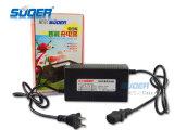 Suoer inteligente rápida cargador de la energía de la batería de 48V 12A Cargador de batería para coches eléctricos (MB-4812A)