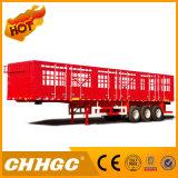 La alta calidad Chhgc Doble-Estaca el semi-remolque