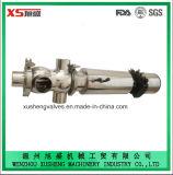 Valvola igienica sanitaria di Mixproof dell'acciaio inossidabile Dn80/elevatore mescolantesi della valvola/sede della prova
