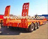bas lit plat 80t-100t/de Lowboy remorque camion semi (HTC9406TDP)