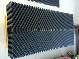 Твердые листы блока заполнений PVC стояка водяного охлаждения каннелюры 19mm