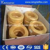 Blauer Deckel-Hochdruckunterlegscheibe-Schlauch/hydraulischer Gummischlauch