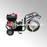 Motor diesel con Lavadora de alta presión y las ruedas (DHPW-3600)