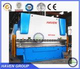 CE створки листа нержавеющей стали гибочной машины WC67K 250T/5000 гидровлический и ISO