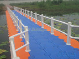 Zhongyaの海洋のドックのプラスチックポンツーンの浮く物