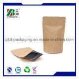 Pacote de papel Kraft para embalagem de grãos alimentícios