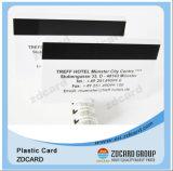 Carte du club VIP de carte de piste magnétique de PVC de plastique avec Hico/Loco