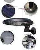 Luz solar Mountable grave psta solar solar do sensor de movimento do diodo emissor de luz para a jarda da cerca