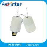 USB Pendrive del metallo del disco di memoria del USB della modifica di cane mini