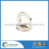 "N52 D3 / 8 ""X1 / 10"" Ni-Cu-Ni plaqué demi-rond (demi-cercles) NdFeB Magnet"