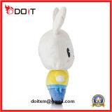 Brinquedo enchido do coelho do amarelo do brinquedo do luxuoso terno feito-à-medida