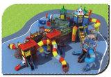 Os miúdos que escalam o jogo ao ar livre do campo de jogos do equipamento centram HD-011A