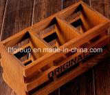 Caja de presentación de madera del perfume retro de calidad superior
