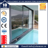 安い価格の内部の二重アルミ合金のスライドガラスドア