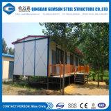 Maisons préfabriquées de luxe de construction rapide de structure métallique de lumière d'approvisionnement de la Chine