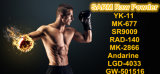 99.48% Poudre crue de gain/mieux qualité de Sarm Sr9009 de muscle