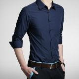 Formale Form-langes Hülsen-Smokinghemd der Männer
