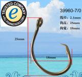 Edelstahl-Fischerei-Haken-einzelner Haken 39960