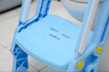 Asiento de tocador plástico de la escala del entrenamiento del bebé