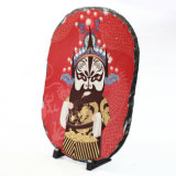 고품질 Hotsale 공백 타원형 색칠 승화 바위 사진술