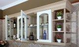 Module de cuisine moderne bon marché de porte de PVC pour la qualité (zc-073)