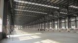 軽い鉄骨構造の倉庫