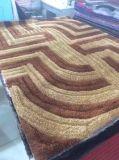 卸し売り3D伸縮性があるフィラメントヤーン300dの明るい絹のカーペット