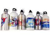 bouteille en aluminium de sport de sublimation de 400ml 600ml