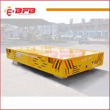 Carro sin rieles motorizado con pilas de la transferencia para la planta siderúrgica en suelo del cemento