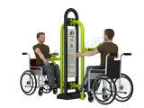 Equipo Handicapped al aire libre de la aptitud del parque del Grm del patio lisiado