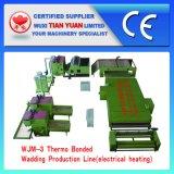짠것이 아닌 기계 폴리에스테르섬유 메우는 물건 생산 라인