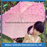 Fantastischer Eco freundlicher Sicherheits-Blumen-Spitze-Vorstand-Kind-Kind-Regenschirm