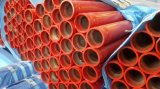 Victaulic Grooved Painting Red를 가진 ERW Seamless Steel Pipe