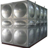 SUS van uitstekende kwaliteit 304 de Vierkante Tank van het Water van het Roestvrij staal