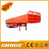 высокопрочный стальной трейлер бортовой стены 40t Semi