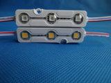 Módulo inyectado LED 3LEDs de la alta calidad 5054 para hacer publicidad de la carta