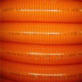 Alta manguera reforzada PVC flexible del tubo