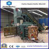 Imprensa hidráulica horizontal da prensa automática máquina-máquina para o papel Waste/cartão/plástico