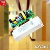 электропитание 30-46W 0-10V изолированное Dimmable СИД с Ce QS1204