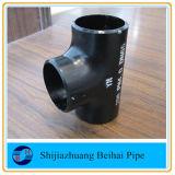JIS B2220 T-stuk van de Pijp van de Montage van de Pijp van het Koolstofstaal Sch40 het Naadloze