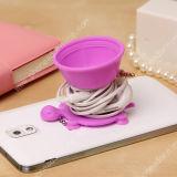 Otário Stand de Silicone Mobile Phone Holder Cell Phone da tartaruga (pH001)