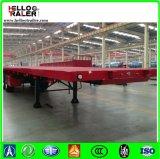 3 Flatbed Aanhangwagen van de Container van de as 40FT met het Slot van de Container